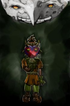 Majora's Mask Color by AlizesArt