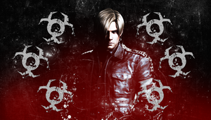 Leon S. Kennedy wall PS Vita by VickyxRedfield