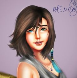 Yuna from ffx by brendamiller1234