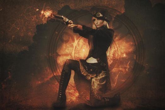 Steampunk Style by IreneDuCo