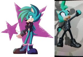 Sonic Forces OC - Shamrock by SupercellComic