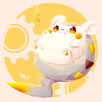 Togedemaru by lacieon