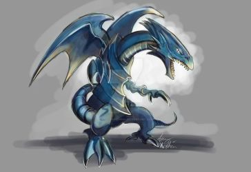 Blue Eyes White Dragon by Mad--Munchkin