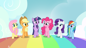 Walking on Rainbows by FrownFactory