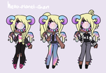 [outfit Set] - Cinnabunangel [2/2] by hello-planet-chan