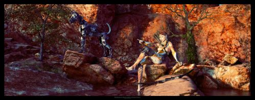Between A Rock And A Hard Place by TRRazor