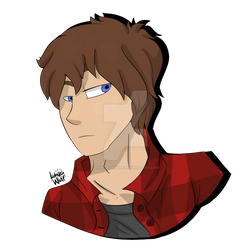 Art Fight #32 - Axel Shepard by TheLavaWolf