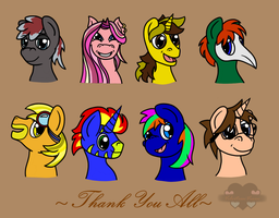 Thank You (2015) by SheWasMagnificent