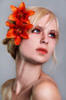 Queen of Lilies by KiaraBlackPhotograph