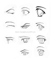 Anime Eyes 2 by Silent--Haze