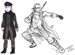The Undertaker alternative outfits by FuriarossaAndMimma