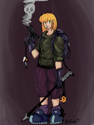 Hell Sweepers - Sera by TheRailz-Art