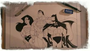 BATS, SUPS, and a WONDER WOMAN by POPSTATA