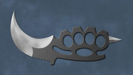 KBK (Karambit Brass Knuckles) by Shadow696