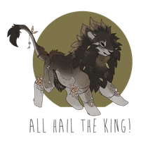 Here Comes the King! by Lordfell