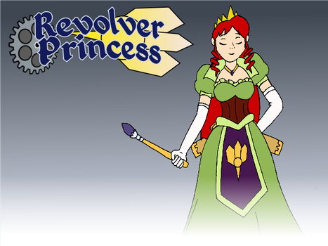 Revolver Princess Request by davidfoxfire
