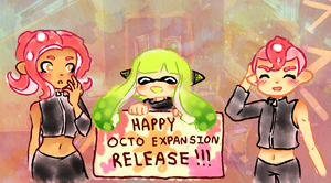 HAPPY OCTO EXPANSION RELEASE DAY by YorixChan