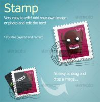 Apple style stamp mail icons by Hardgamerpt