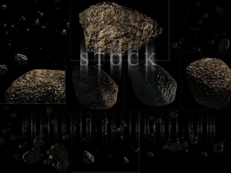 Asteroid Mega Pack 01 by ChrisCold