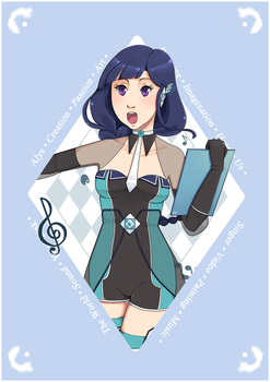 .: Alys - One Year Constest :. by michiyoetandrea