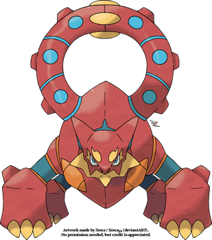 Volcanion by Xous54