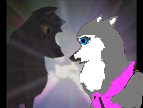 Stormy and Balto by wolfie-09