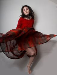 Red jumping 4 by Sinned-angel-stock