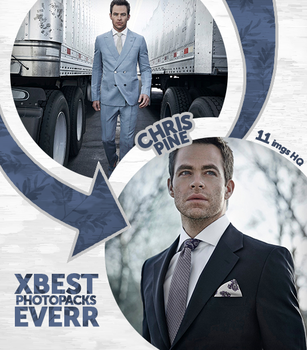 Photopack 30438 - Chris Pine by xbestphotopackseverr