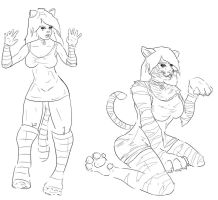 Tiger Costume TF by mrpersonperson