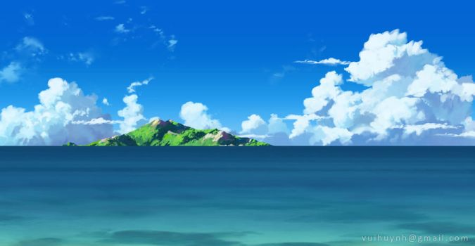 Island - VN background by Vui-Huynh