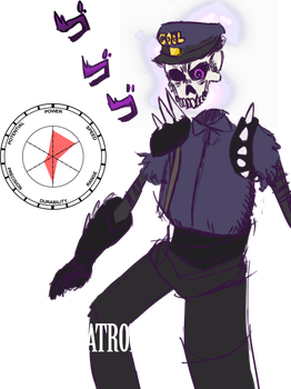 BEHOLD MY STAND, ... by Zipperozic