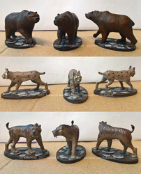 Painted Miniatures: Opponents - [Game Project] by KeksWolf