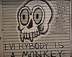 Every Body Is A Monkey by NanaSansnom