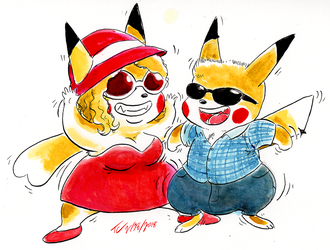 Pika buddies! by TheDJTC