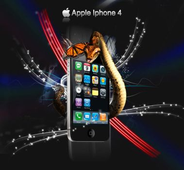 Apple Iphone 4 by Cuca24