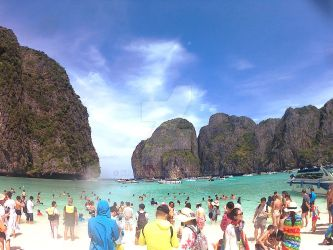 Maya Bay IV by Xtanley
