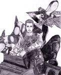Balthier and Fran by Anghellic67