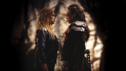 #clexa from the 100 wallpaper. by amazingFake