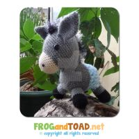 Ane - Donkey FROGandTOAD by FROG-and-TOAD