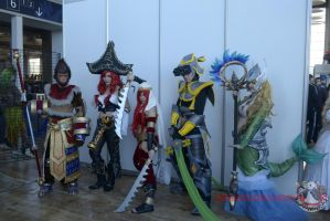LEAGUE OF LEGENDS Group by ExionYukoCosplay