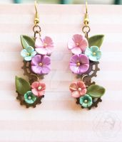 Vintage Flowers by colourful-blossom