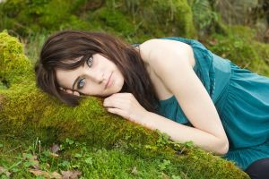 Blue eyed beauty stock by A68Stock
