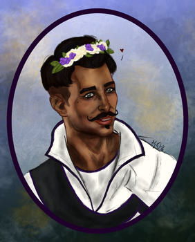 Flowers for Dorian. by Mutantenfisch