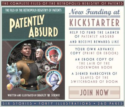 Kickstarter for 'Patently Absurd' by BWS
