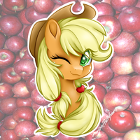 Applejack by DreamyEevee