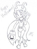 Happy halloween! by Pampered-sheep