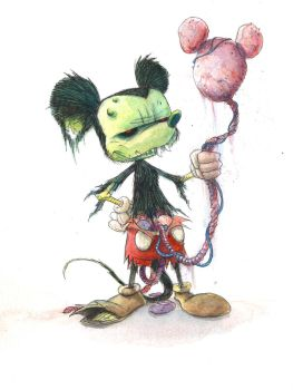 ZOMBIE MOUSE by RM73