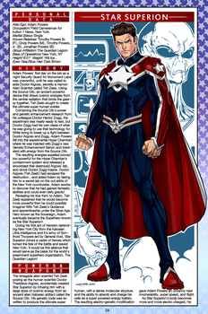 Capital Comics handbook, Page 24: Star Superion by CapitalComicsStudios