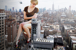 Giantess Ellie's Rampage The Gift by dochamps