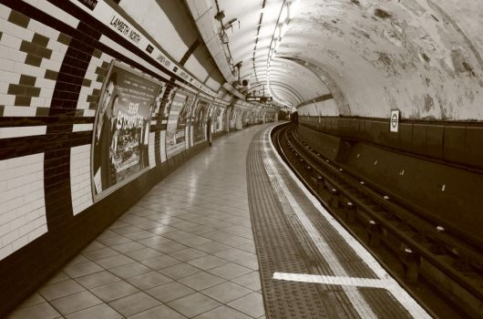Silence on The Underground by Anarchion